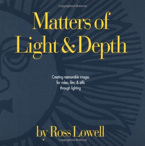 9780966250404: Matters of Light & Depth