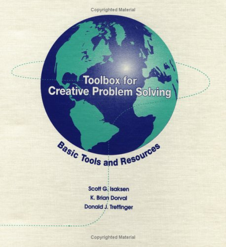 9780966256505: Toolbox for Creative Problem Solving: Basic Tools and Resources