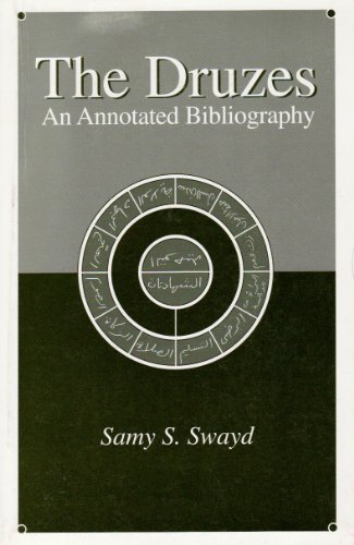 9780966293203: The Druzes: An Annotated Bibliography: 1 (Institute of Druze Studies)