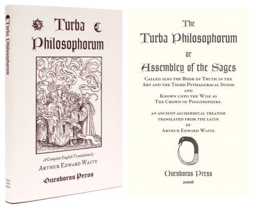 Turba Philosophorum.: Waite, Arthur Edward, translator.