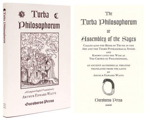 Turba Philosophorum.: Waite, Arthur Edward, translator.