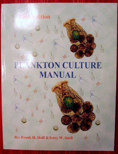 9780966296006: Plankton Culture Manual