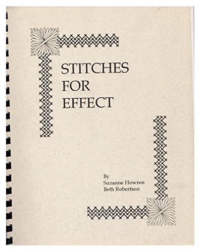 9780966302400: Stitches For Effect