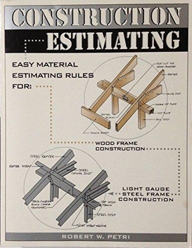 9780966333800: Construction Estimating