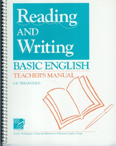 Reading and Writing Basic English: Teachers Manual: Susan Treadgold