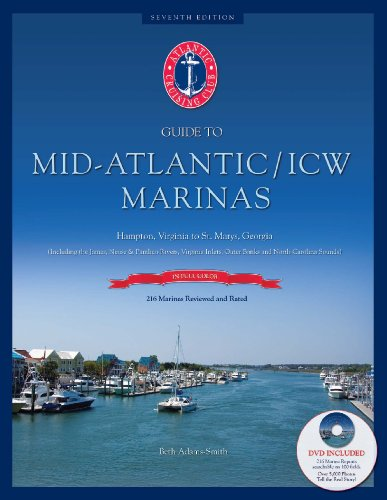 9780966402865: Atlantic Cruising Club's Guide to Mid-Atlantic/ICW Marinas - Hampton, VA to St. Marys, GA -Book with DVD