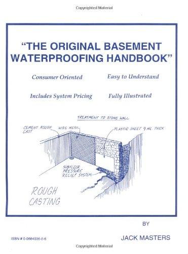 9780966403602: The Original Basement Waterproofing Handbook