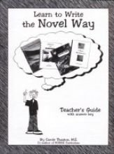 9780966419016: Learn to Write the Novel Way Teacher's Guide with Answer Key
