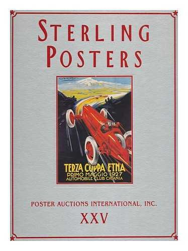 9780966420142: Sterling Posters (Rennert Poster Auction