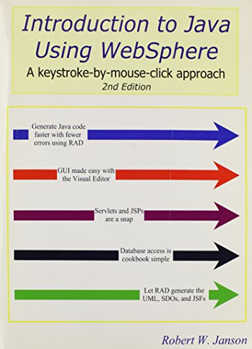 9780966422122: Introduction to Java Using WebSphere, 2nd Edition