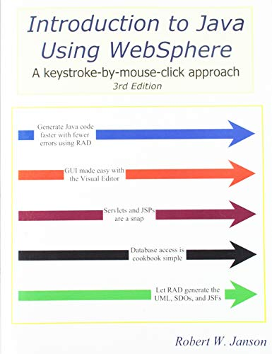 9780966422139: Introduction to Java Using WebSphere, 3rd Edition