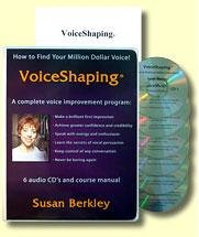 9780966430233: VoiceShaping: A Complete Voice Improvement Program [AUDIOBOOK on CD] (How to Find Your Million Dollar Voice!)