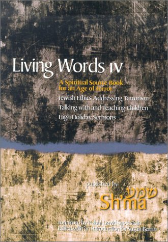 9780966430622: Living Words: A Spiritual Source Book for an Age of Terror