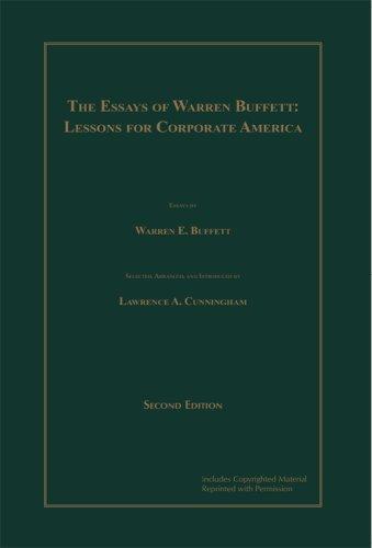 9780966446128: Essays of Warren Buffett