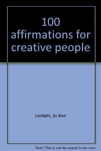 9780966452808: 100 Affirmations For Creative People