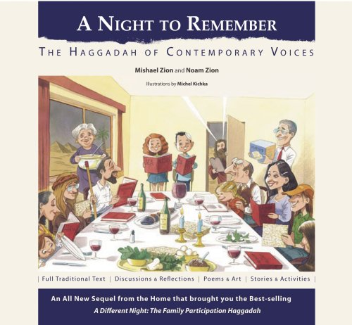 9780966474060: A Night to Remember: The Haggadah of Contemporary Voices