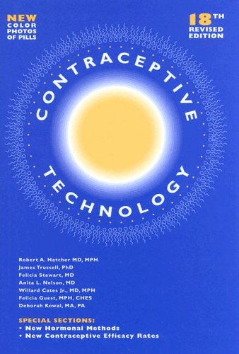 9780966490244: Contraceptive Technology, 18th Revised Edition