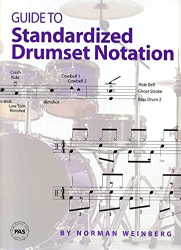 9780966492811: PAS GUIDE TO DRUMSET NOTATION