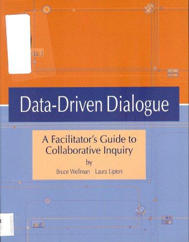 9780966502237: Data-Driven Dialogue A Facilitator's Guide to Collaborative Inquiry