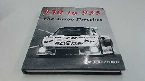 9780966509410: 930 to 935 The Turbo Porsches