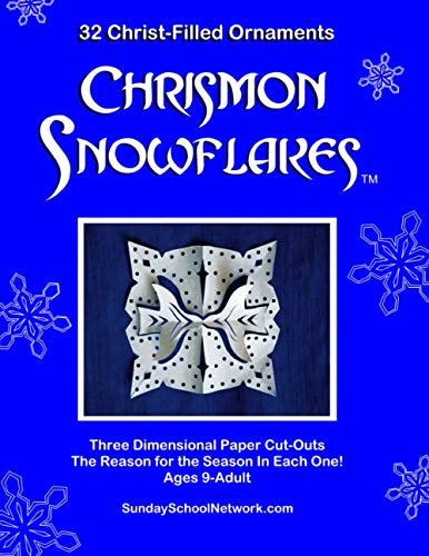 9780966512403: Chrismon Snowflake Ornaments: 32 Christ-Filled Ornaments