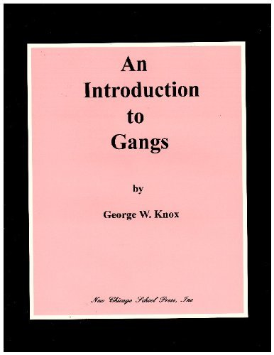 9780966515503: An introduction to gangs