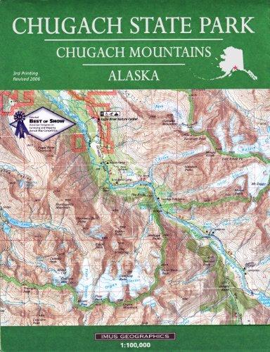 9780966534573: Chugach State Park Map
