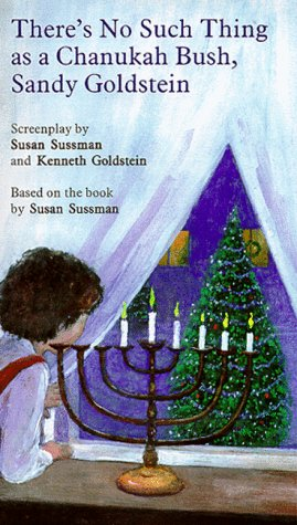 9780966558708: There's No Such Thing as a Chanukah Bush, Sandy Goldstein [VHS]