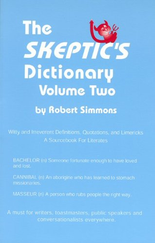 The Skeptic's Dictionary: Simmons, Robert