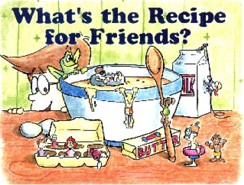 What's The Recipe For Friends?: Greg Williamson