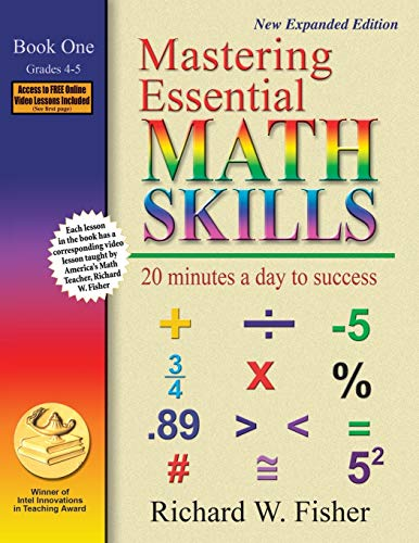 9780966621136: Mastering Essential Math Skills: 20 Minutes a Day to Success, Book 1: Grades 4-5