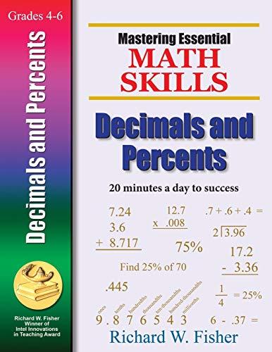 9780966621167: Mastering Essential Math Skills Decimals And Percents (Mastering Essential Math Skills)