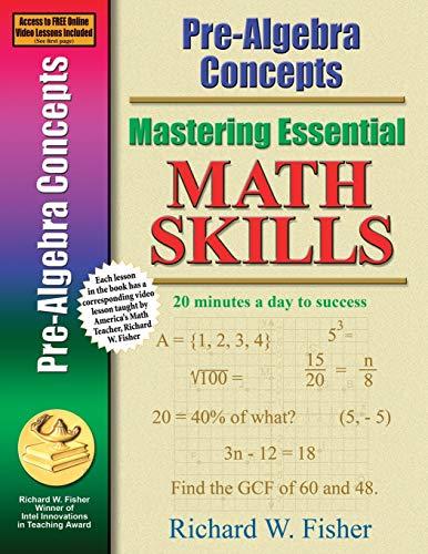 9780966621198: Mastering Essential Math Skills: Pre-Algebra Concepts