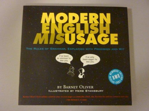 9780966633511: Modern English Misusage