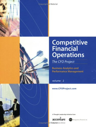 Competitive Financial Operations, CFO book
