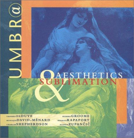 Umbr(a): Aesthetics & Sublimation (9780966645224) by Joan Copjec; Thierry De Duve