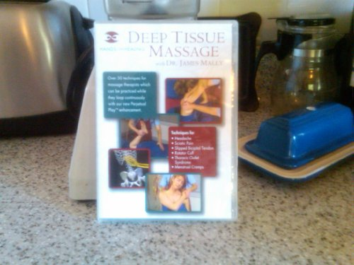9780966653397: Deep Tissue Massage with Dr. James Mally