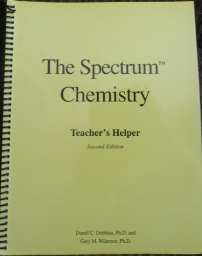9780966657883: The Spectrum Chemistry Teacher's Helper