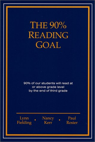 9780966687507: The 90% Reading Goal