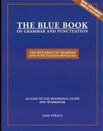 9780966722185: The Blue Book of Grammar and Punctuation (9th Edition)