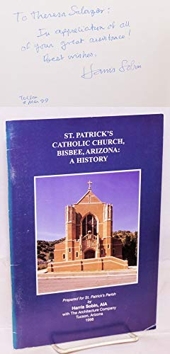9780966730203: St. Patrick's Catholic Church, Bisbee, Arizona: A history