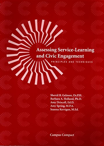 9780966737172: Assessing Service-Learning and Civic Engagement: Principles and Techniques