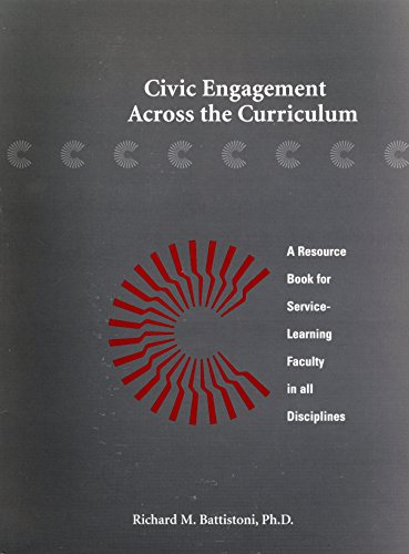 9780966737189: Civic Engagement Across the Curriculum: A Resource Book for Service-Learning Faculty in All Disciplines
