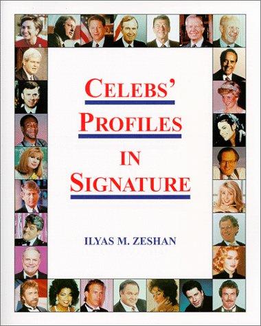 9780966746006: Celebs' Profiles in Signature