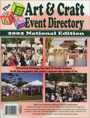 9780966748734: The ABC Art and Craft Event Directory 2002