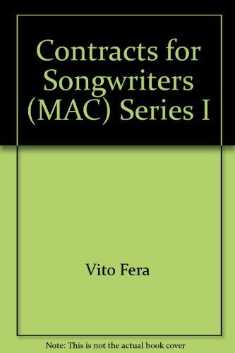 Contracts for Songwriters (MAC) Series I: Vito Fera
