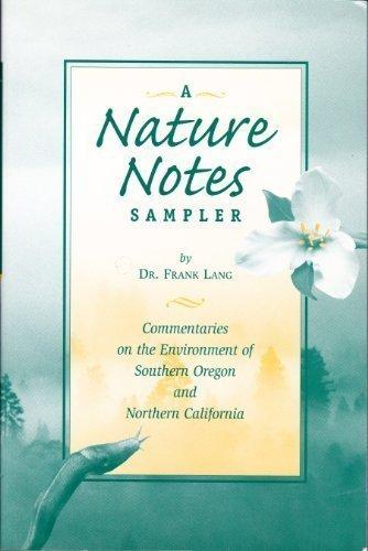 A Nature Notes Sampler: Frank Lang