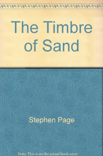 The Timbre of Sand: Page, Stephen