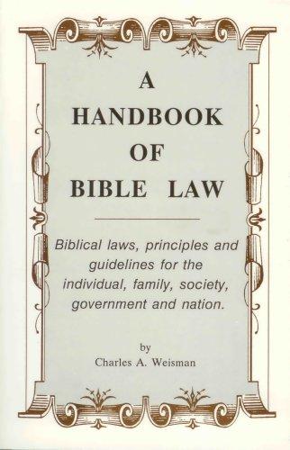 9780966892123: A Handbook of Bible Law