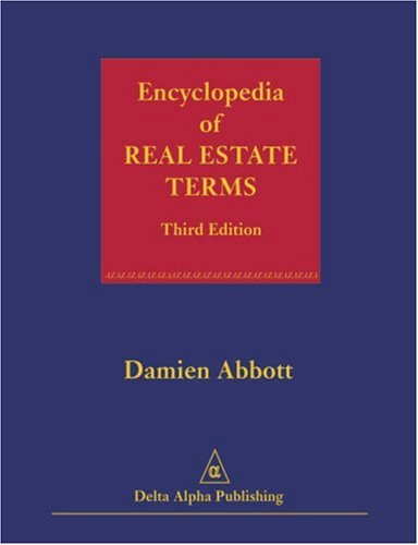 9780966894646: Encyclopedia of Real Estate Terms, Third Edition